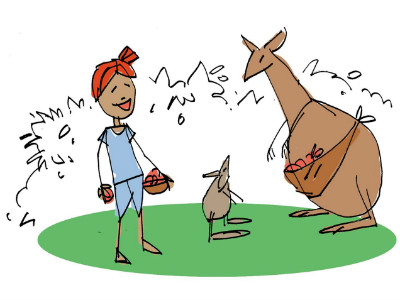 Moral Stories for Children: Why do Kangaroos babies live in pouches