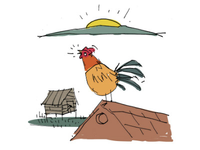 Moral Stories for Children: Why do Roosters crow in the morning