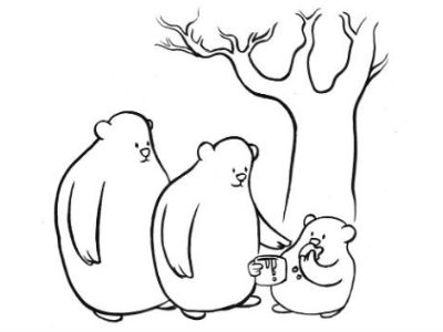 Moral Stories for Students: Why do bears love honey so much?