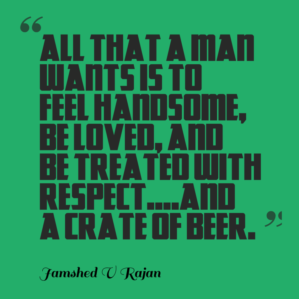 What a man wants
