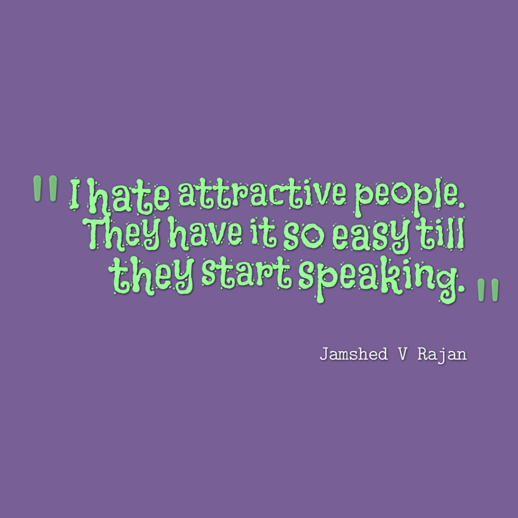 attractive people have it easy