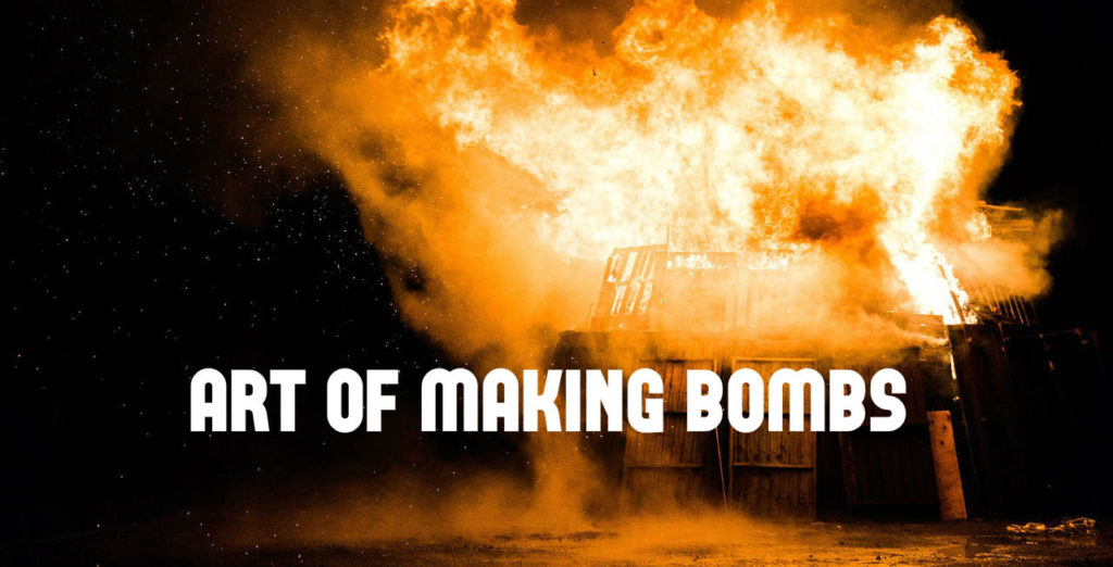 How to make a simple bomb at home and blast
