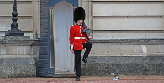 Buckingham Palace Guard London