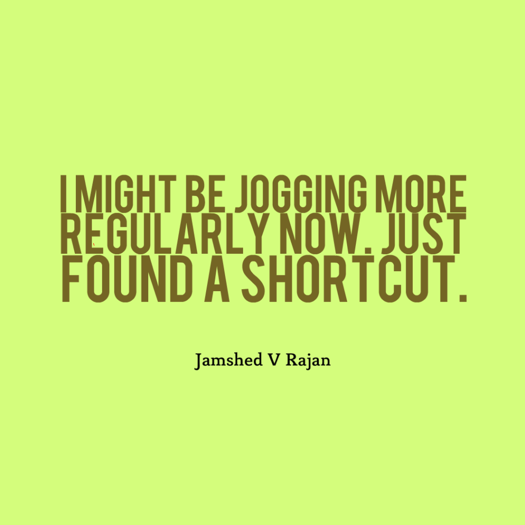 How jogging can be made fun