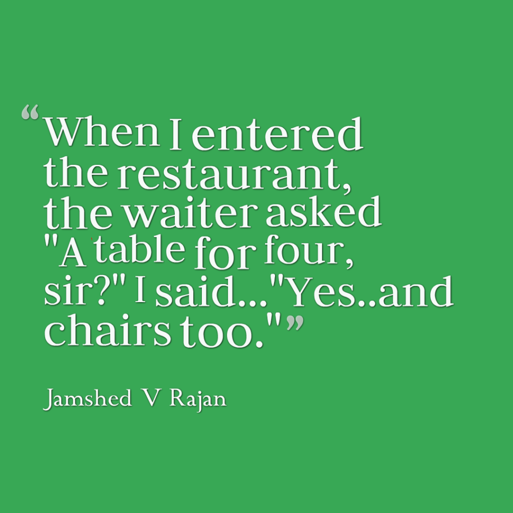 How to get table for four at restaurant