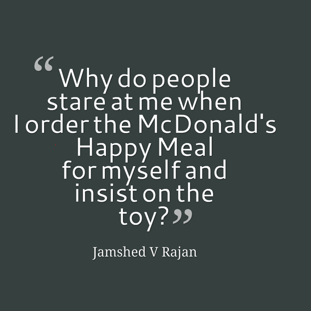 The problem with McDonalds Happy Meal