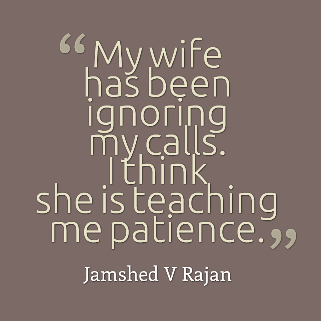What can husbands learn from wives
