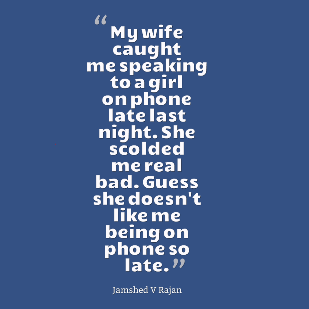 Why wives dont want husbands to have girlfriends