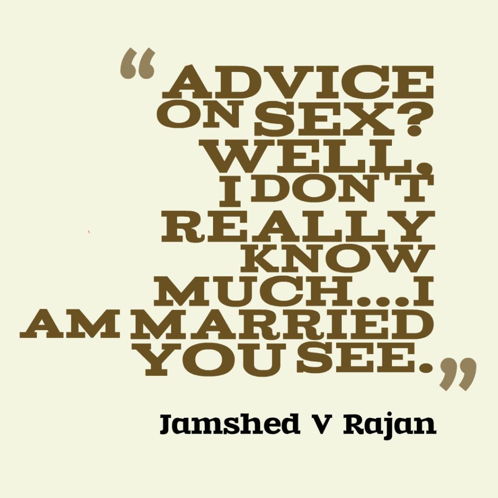 advice on sex