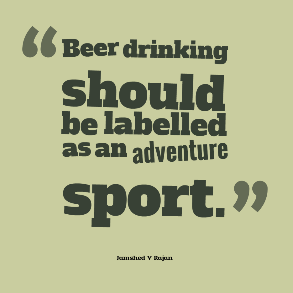 beer drinking as a sport