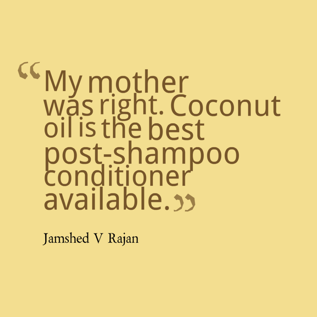 coconut oil is best hair conditioner