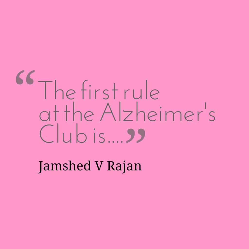 rules of alzheimers club