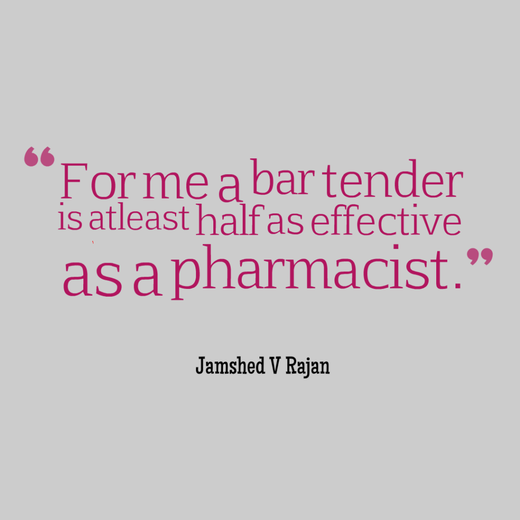 similarity between bar and pharmacy