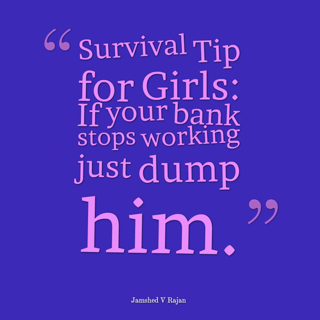 survival tips for girls