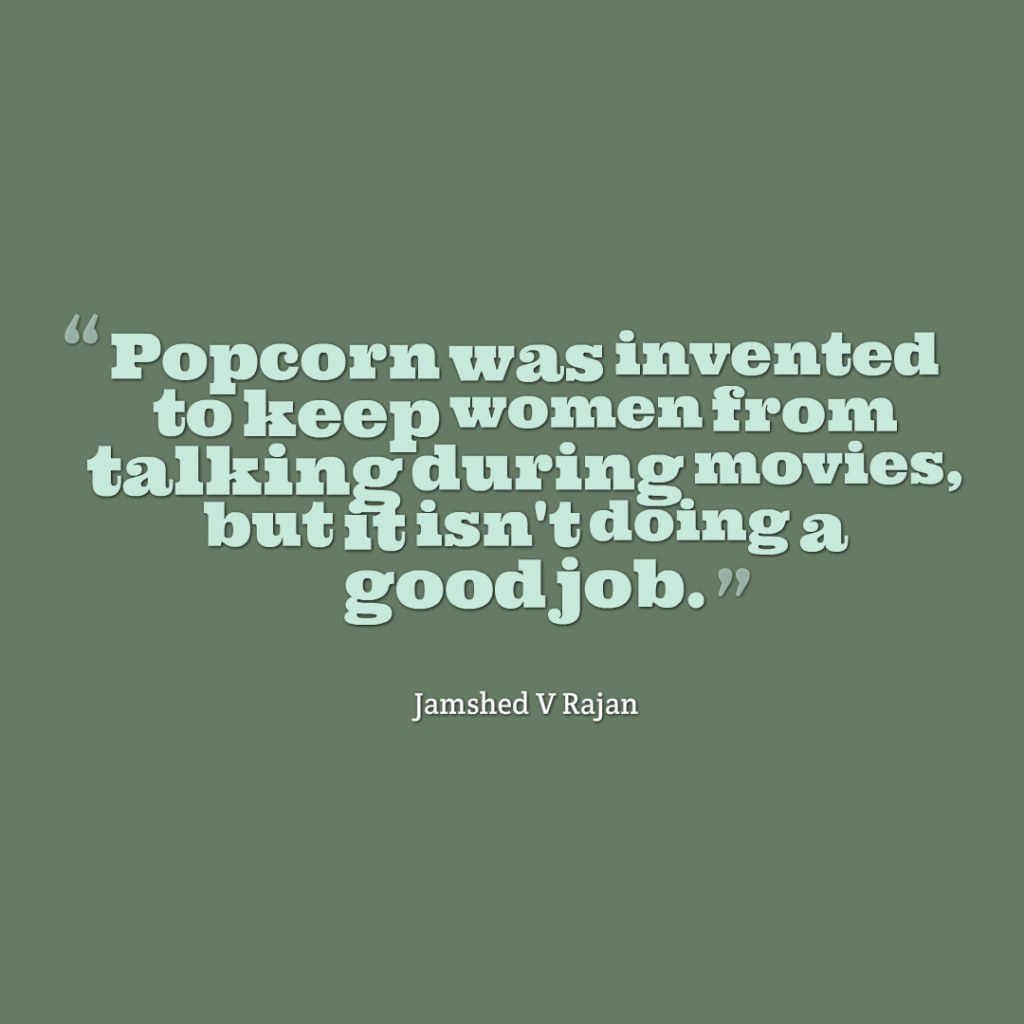 why was popcorn invented
