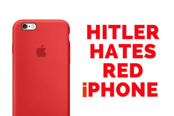 Hitler hates Apple's Red iphone