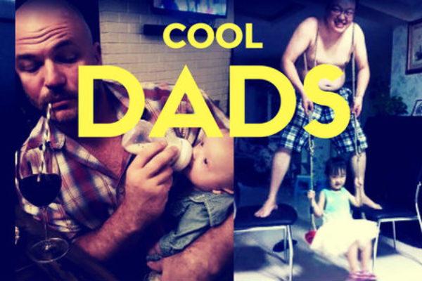 Funny photos of dads and their kids