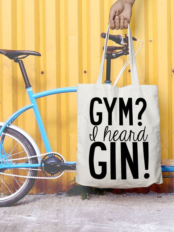 Funny Gin Quote: I heard Gin