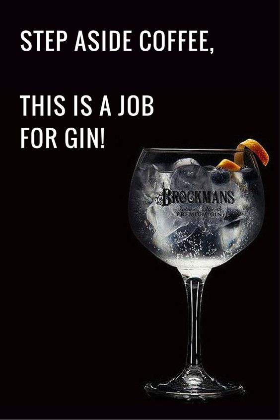 Funny Gin and Tonic Joke: Job for a gin