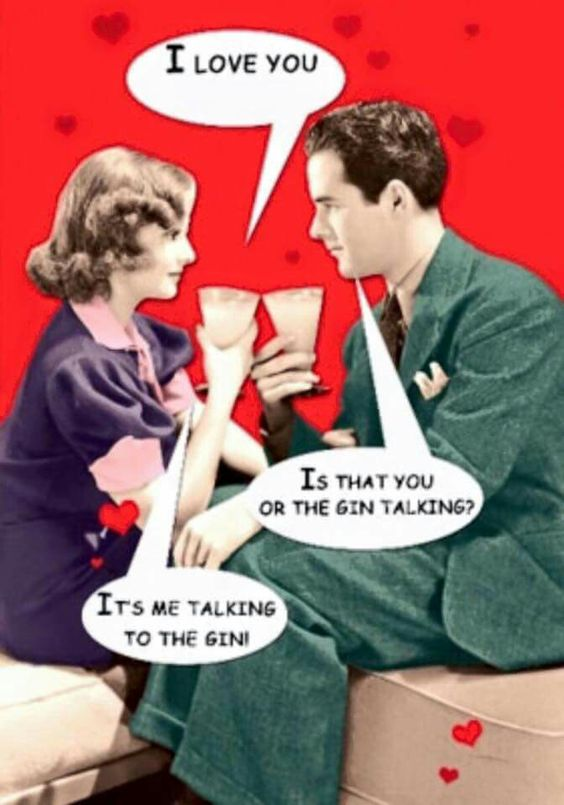Funny Gin and Tonic Joke: Me talking to the gin