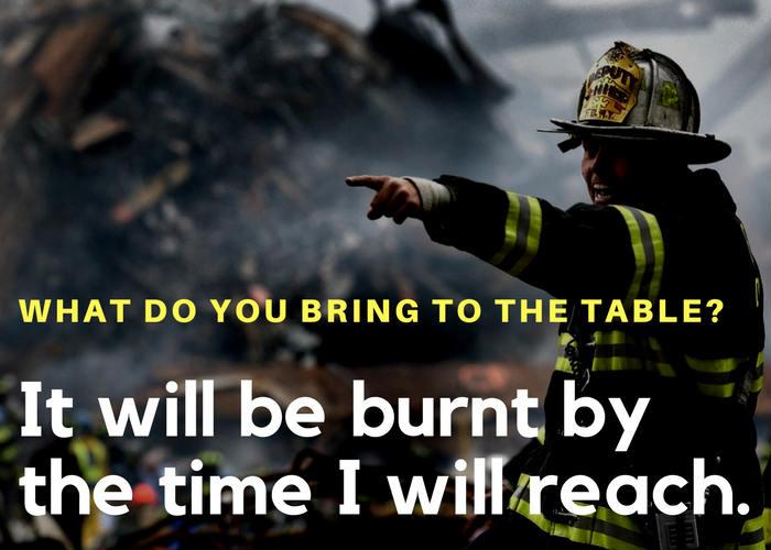 Funny fireman